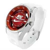 NIKE fashion exquisite watch  F-PS-XSDZBSH    White red