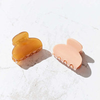 Enamel Jaw Clip Set - Urban Outfitters