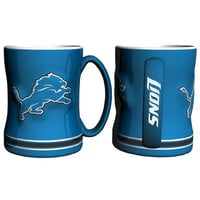 Detroit Lions NFL Coffee Mug - 15oz Sculpted (Single Mug)