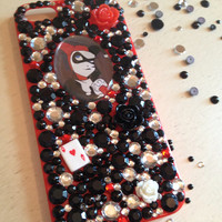 Red Harley Quinn IPhone 5 Case