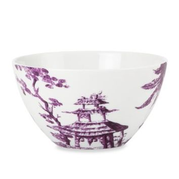 Scalamandre by Lenox® Toile Tale 24-Ounce All-Purpose Bowl in Amethyst