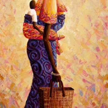 Virtuous Valerie - Giclee