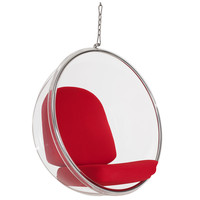 Ring Lounge Chair Red