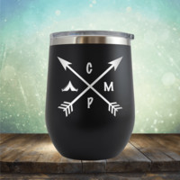 Camp Arrows - Wine Tumbler