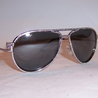 NEW VERSACE SUNGLASSES VE 2171B 10006G SILVER/GRAY MIRROR SILVER AUTHENTIC 2171
