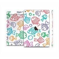 The Vector Color-FIsh Skin Set for the Apple iPad Pro