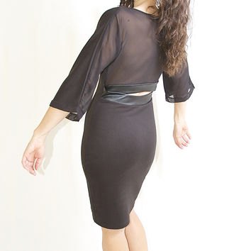 Analili Black Dress