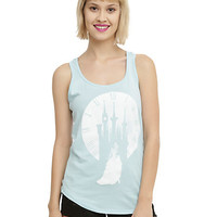 Disney Cinderella Clock Silhouette Girls Tank Top