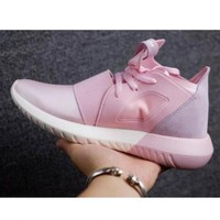 Adidas Fashion Tubular Defiant Trending Sneakers Running Sports Shoes Pink I-FEU-SY