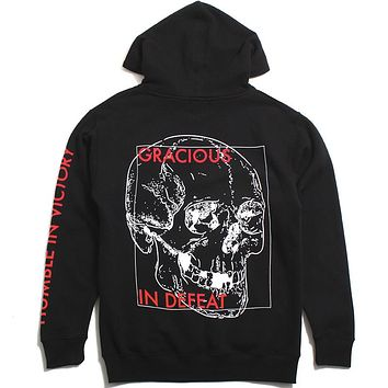 Gracious In Defeat Hoodie Black