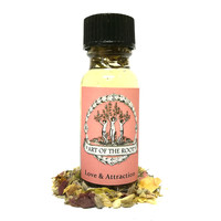 Love & Attraction Oil for Hoodoo, Voodoo, Wicca and Pagan Divination