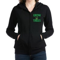 GROW TREES Women's Zip Hoodie> Grow Trees> 420 Gear Stop