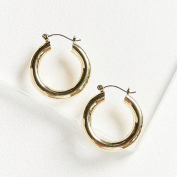 Chunky Hoop Earring   Urban Outfitters