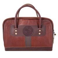 Bison Leather Doctor's Weekend Bag