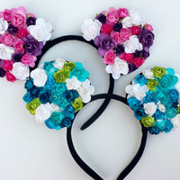 Floral Mickey Mouse Ears, deadmau5,