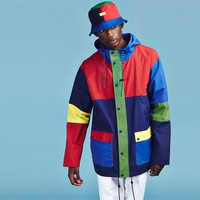 Lazy Oaf Red Panel Mac Jacket - View all - SALE - Mens