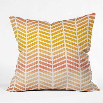 Rebecca Allen Sunset Bliss Throw Pillow