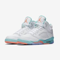 "Air Jordan 5 Retro GS ""Light Aqua"" - Best Deal Online"
