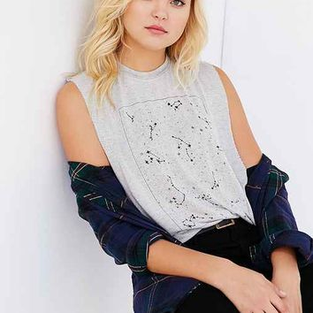Truly Madly Deeply Constellations Muscle Tee