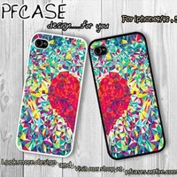 Twin of love forever Case For Iphone 44s 5 Samsung S234 by pfcases12 on Zibbet