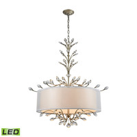 Asbury 6 Light LED LED Chandelier In Aged Silver