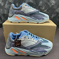 Morechoice Tuhl Adidas Yeezy Boost 700 Carbon Blue Hollow Running Shoes Low Sneaker Breathable Jogging Shoes Fw2498