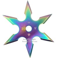 Rainbow Ninja Throwing Star