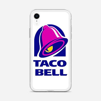 Taco Bell  Tshirt White iPhone XR Case
