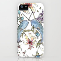 Narwhal pattern iPhone & iPod Case | Print Shop