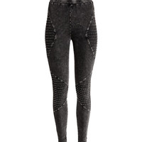 Biker Leggings - from H&M
