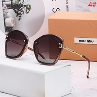 Miu Miu Fashion New Polarized Women Sunscreen Travel Glasses Eyeglasses