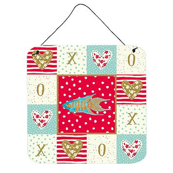 Paradise Fish Love Wall or Door Hanging Prints CK5491DS66