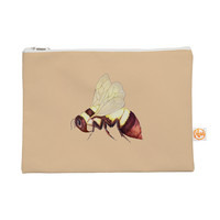 "Catherine Holcombe ""Bee Happy Beige"" Everything Bag"
