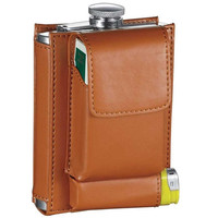 Visol Marsupial Russet Brown Combination Flask