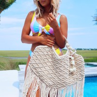 Happy In The Sun Purse : Ivory