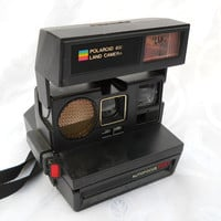 Polaroid 600 vintage instant camera Auto by PerfectlyGoodStuff