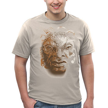 Exclusive Big Face of Boe T-Shirt - Sand,