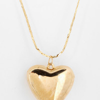 Urban Outfitters - Urban Renewal Puffed Heart Necklace