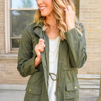 Patchwork Cargo Jacket