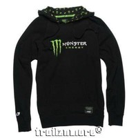 Women's One Industries Monster Energy Gallup Hoodie Black S M L XL NWT