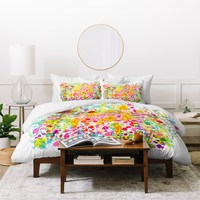 Stephanie Corfee Bubble Garden Duvet Cover