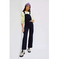 High Loose Overall Cozy Black