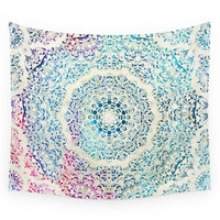 Society6 Watercolor Mandala Wall Tapestry