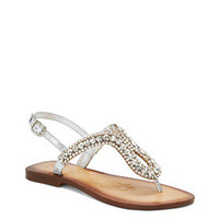Pony Pass Embellished T-strap Sandal - Naughty Monkey™ - Victoria's Secret