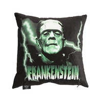 Rock Rebel Frankenstein Pillow