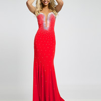 Jovani Jersey Gown