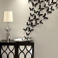 Rowhouse 40-pc. Butterflies Wall Decor Set