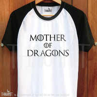 Mother of Dragons TShirt - Game of Thrones Tee Shirt khaleesi Tee Shirts Size - S M L XL 2XL 3XL