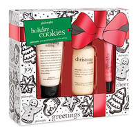 philosophy holiday cookies 3pc gift set