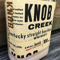 Bourbon Knob Creek Whiskey Candle Soy Wax YOU Choose Scent
